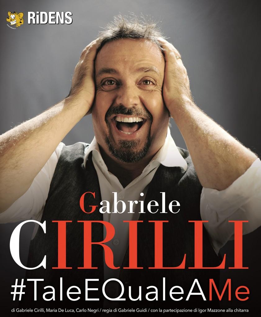 Poster Teatro Gabriele Cirilli 70x100